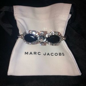 Marc Jacobs bow hinge cuff bracelet